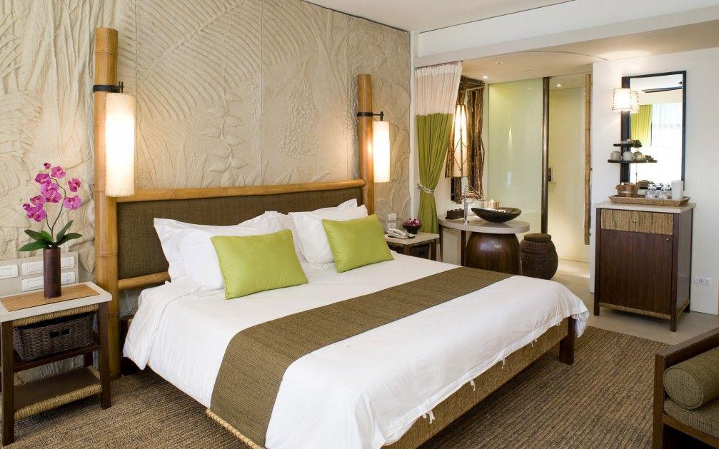 Отделка спальной комнаты в японском стиле