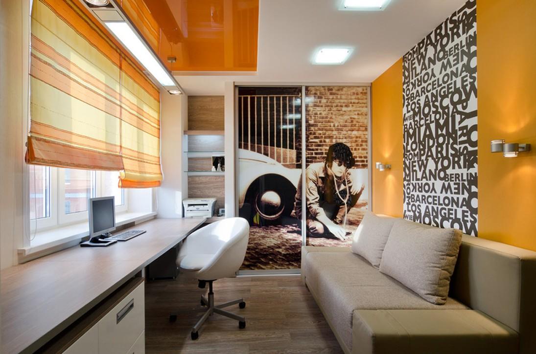 интерьер и декор маленькой комнаты