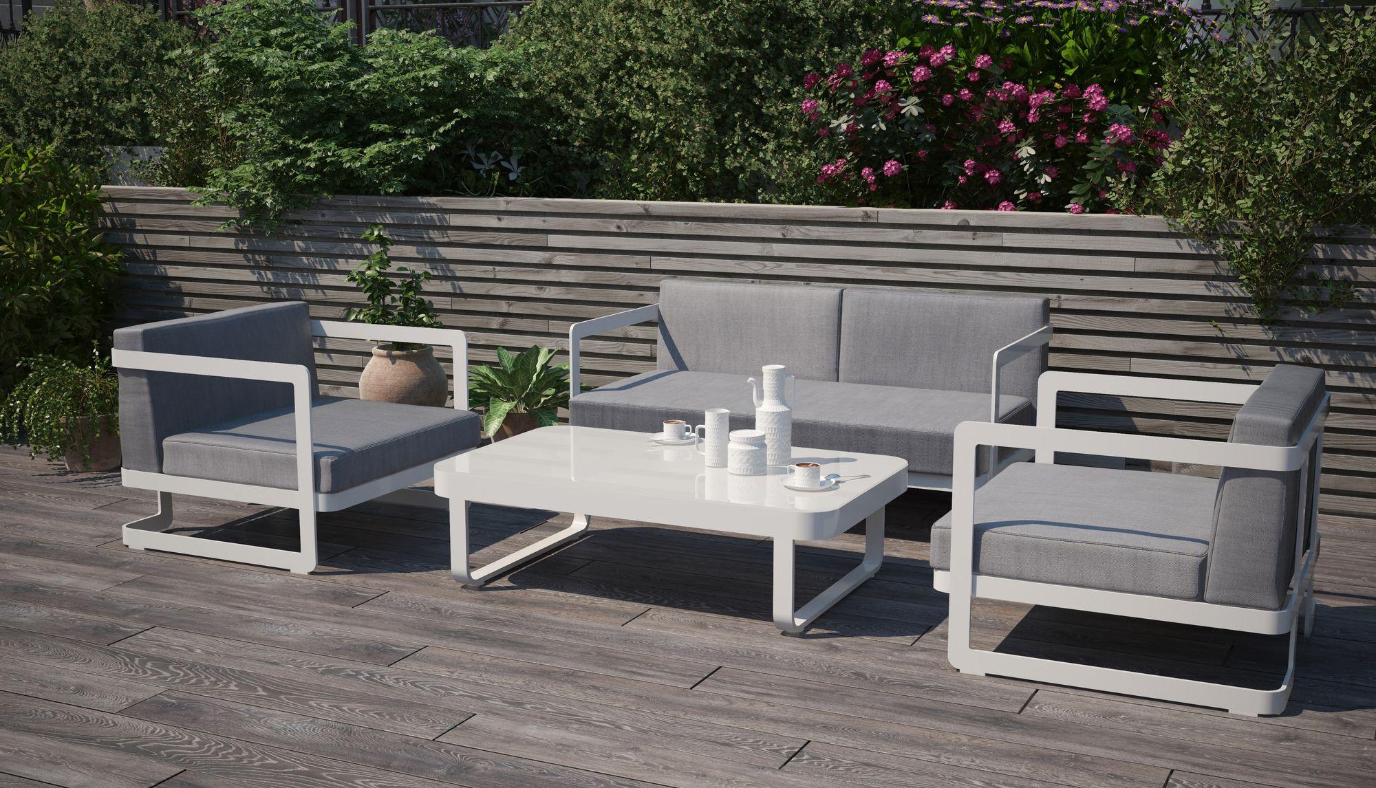 алюминиевая садовая мебель фото