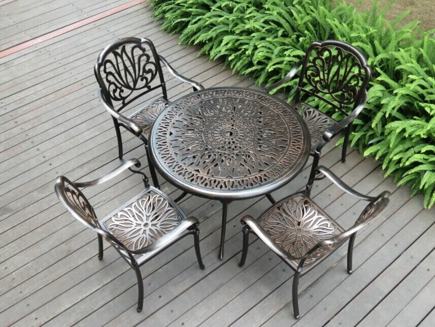 алюминиевая садовая мебель идеи