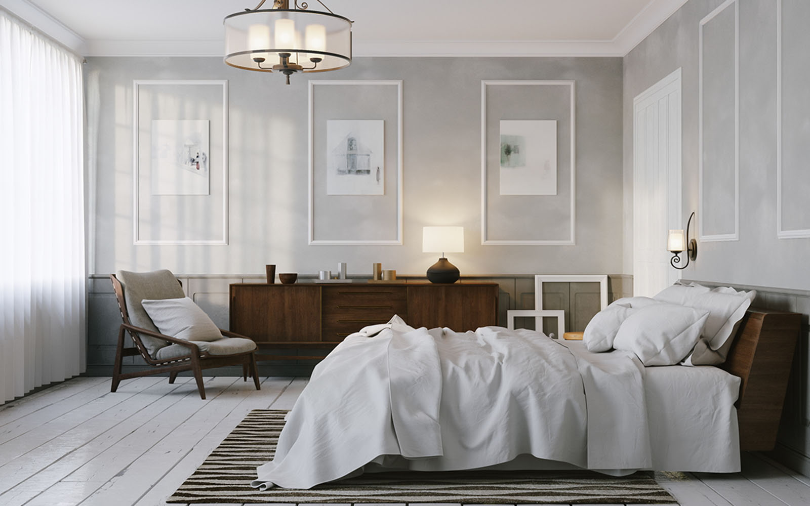 дизайн комнаты освещение