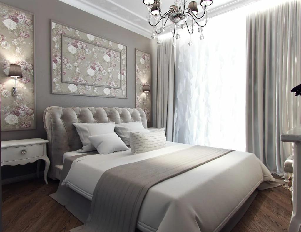 декор комнаты шторы в спальне