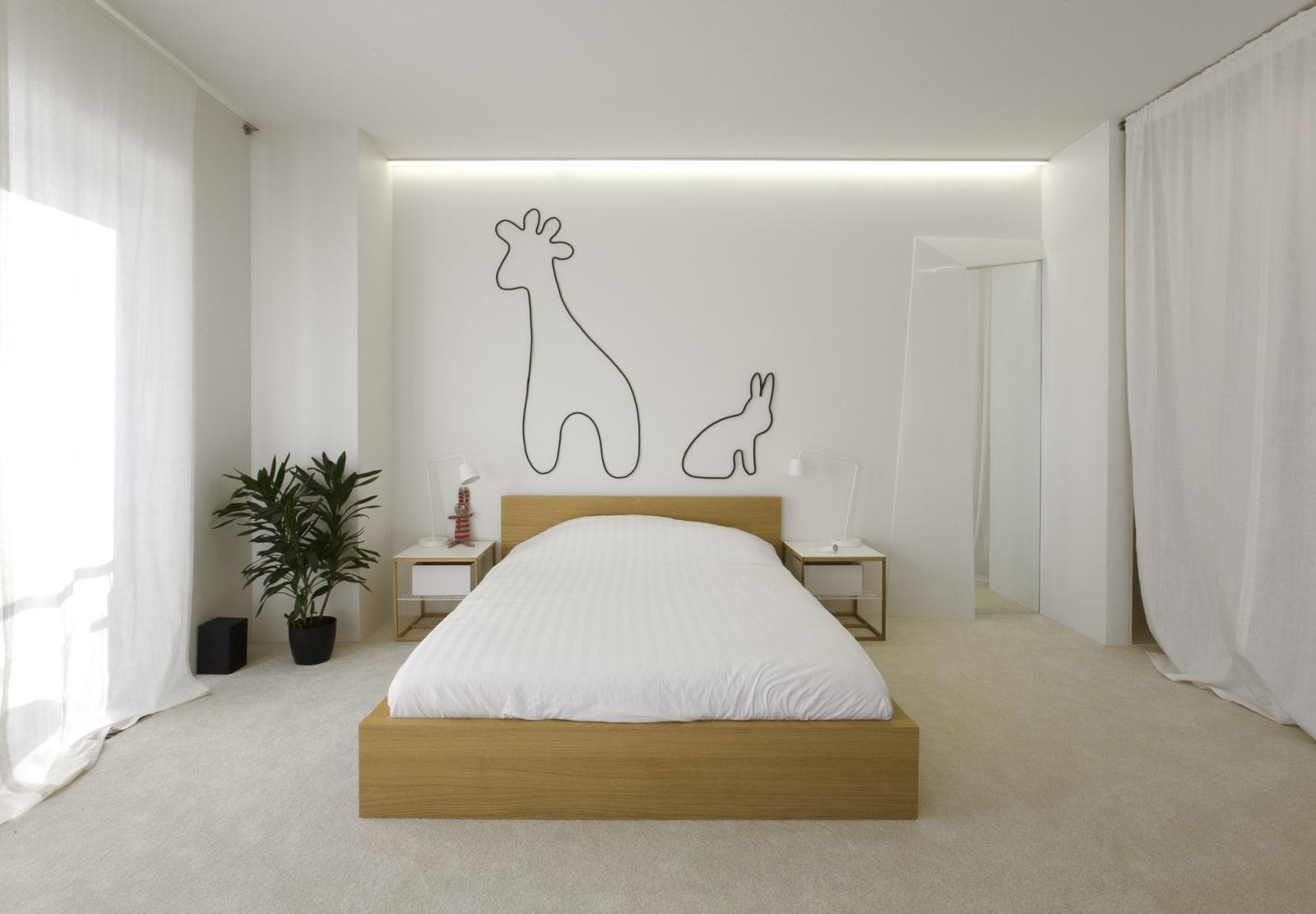 декор комнаты тюль
