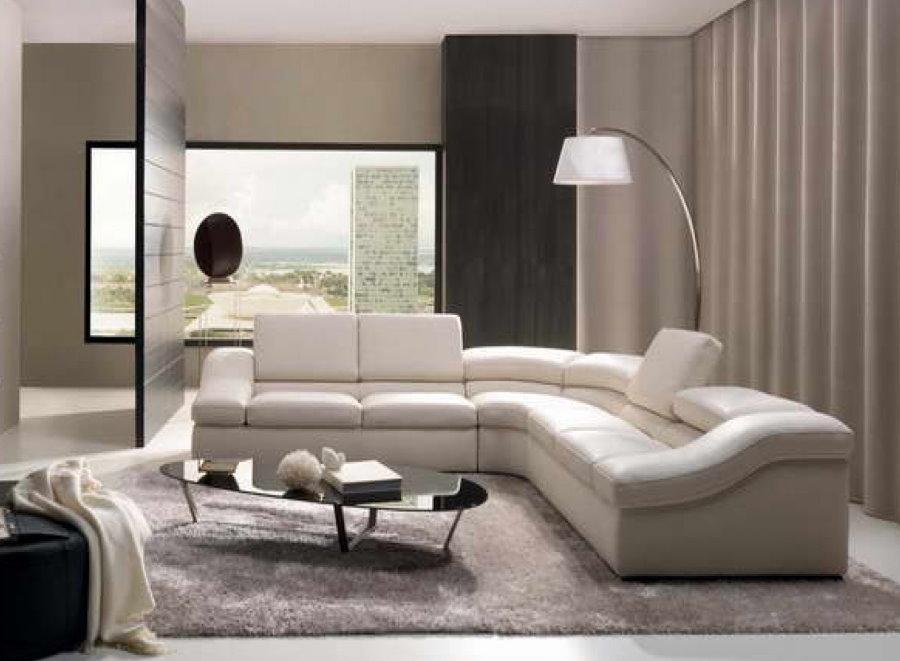 Угловой диван в стиле модерн