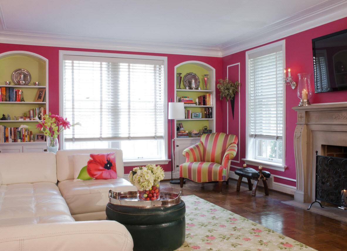 прямоугольная комната отделка и мебель