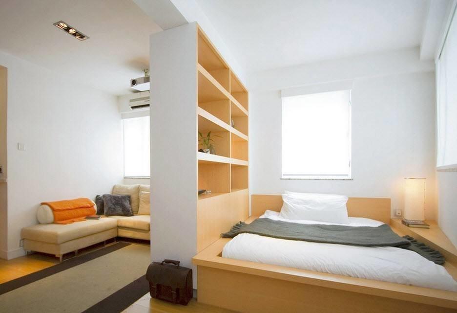 две комнаты в одной дизайн фото