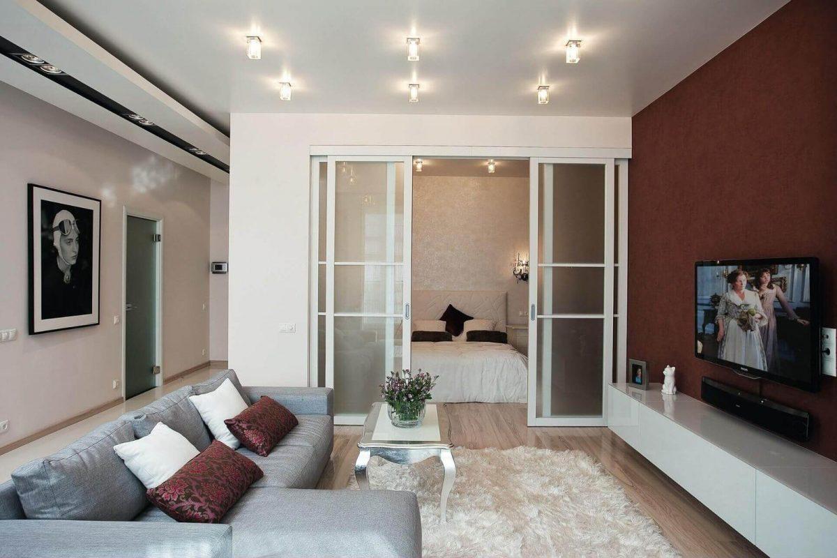две комнаты в одной дизайн идеи