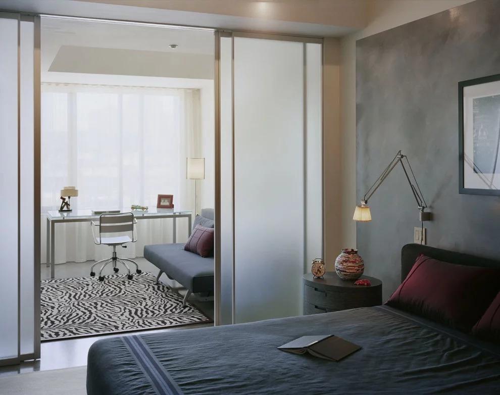 две комнаты в одной фото дизайна