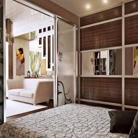 две комнаты в одной идеи фото
