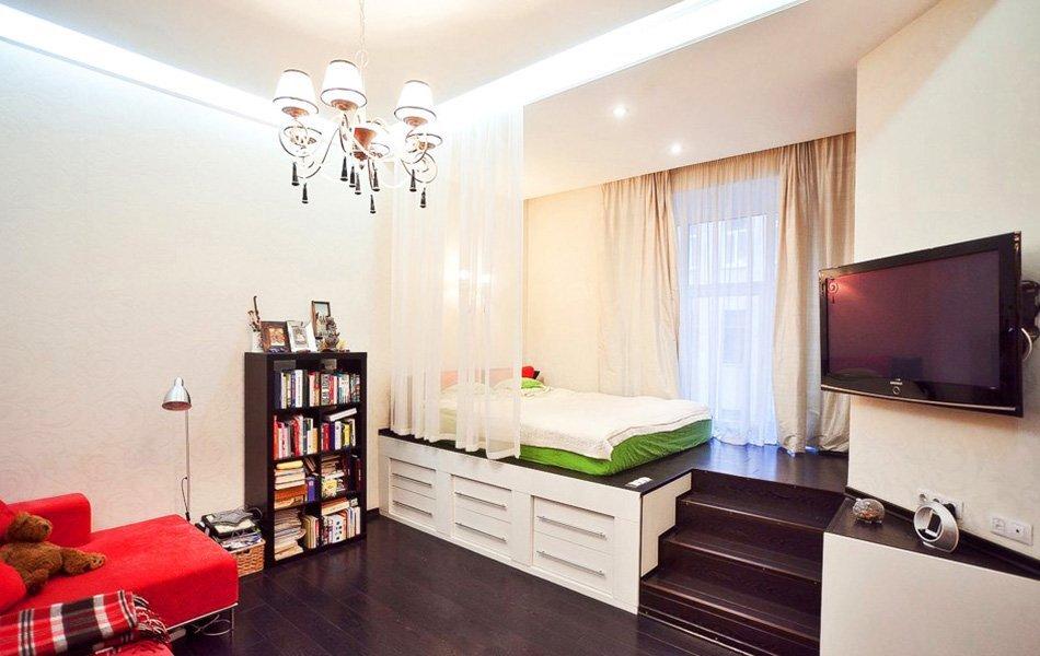 две комнаты в одной интерьер фото