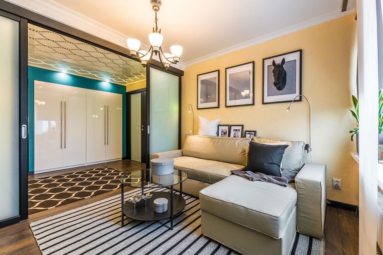две комнаты в одной интерьер