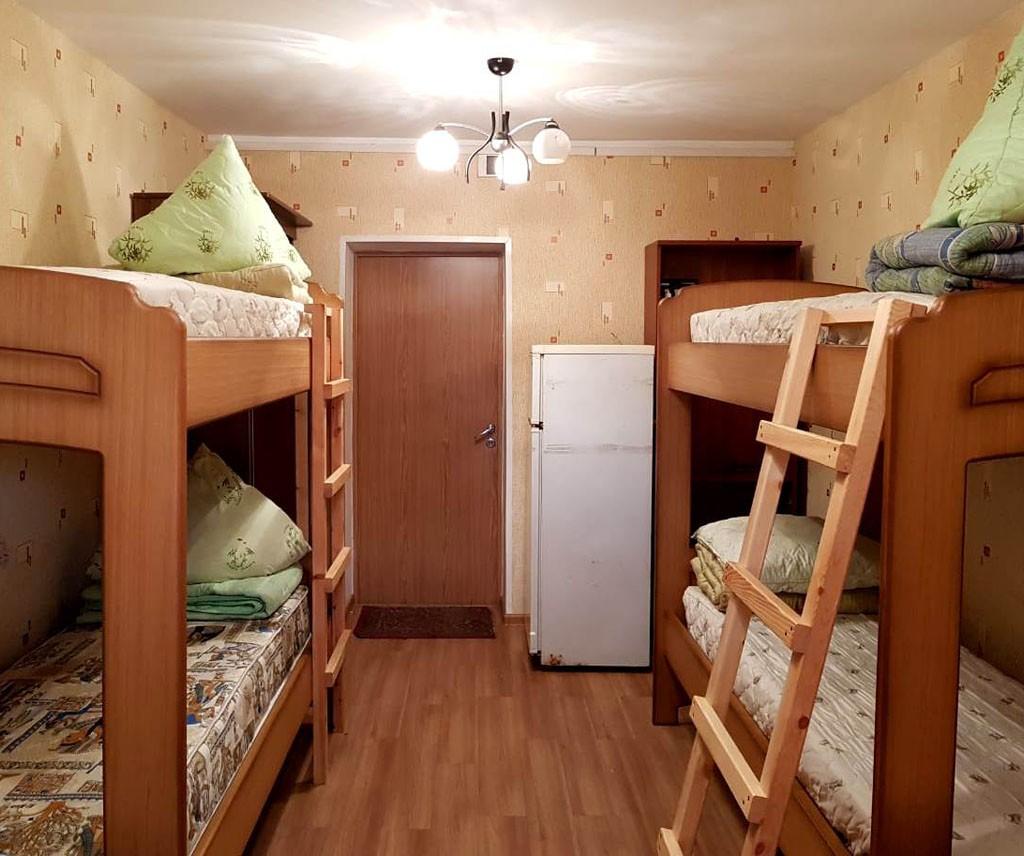 Маленькая комната в студенческом общежитии