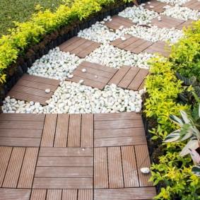 Садовая плитка из термодоски
