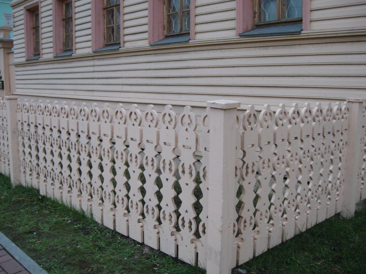 Картинки деревянных палисадников