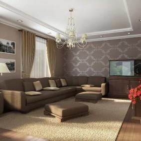 Дизайн гостевой комнаты в пастельных тонах
