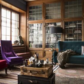 Уютная комната в английском стиле