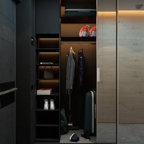 Стильный гардероб в темных тонах