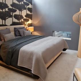 Оформление небольшой спальни в современном стиле
