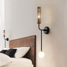 Настенный светильник в современном стиле