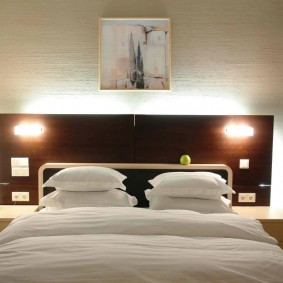 Комфортное освещение спального помещения