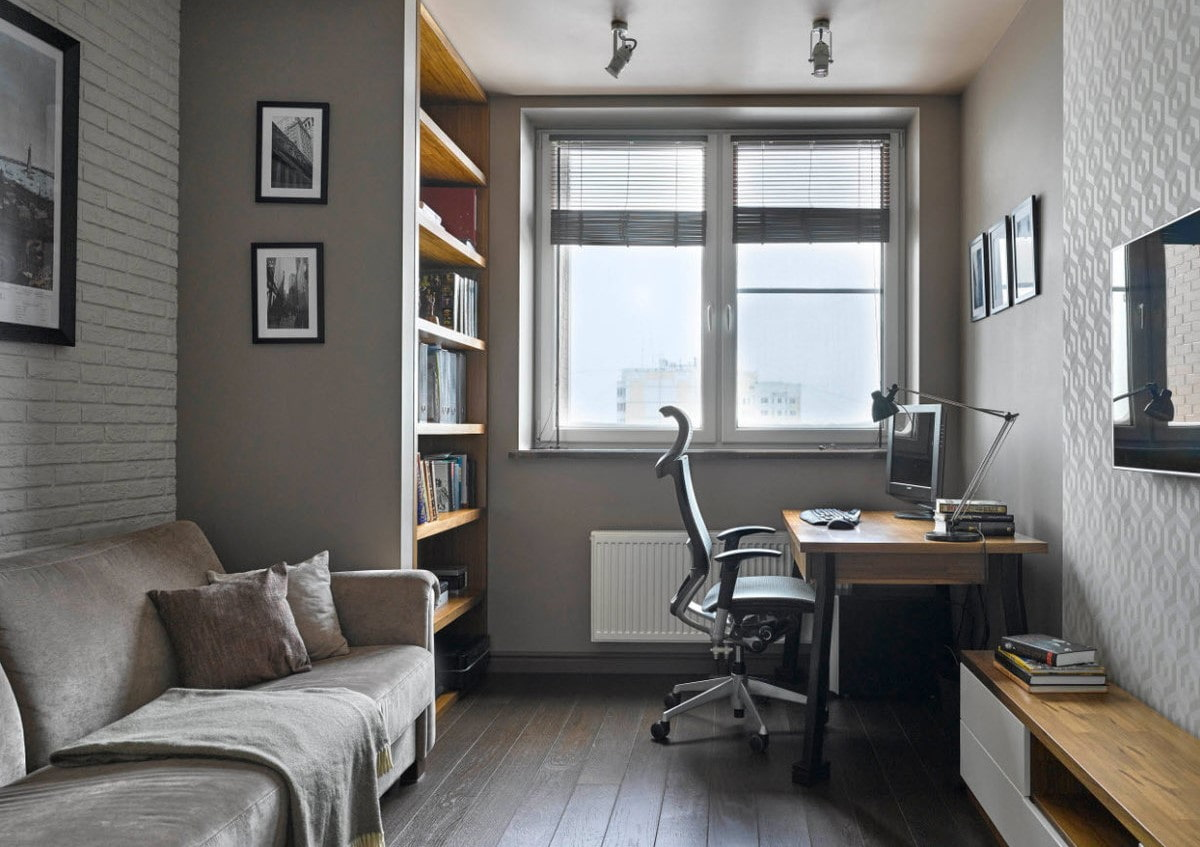 фото серого кабинета