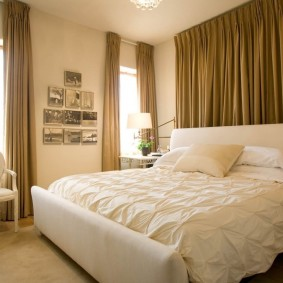 Сочетание цветов в дизайне спальни