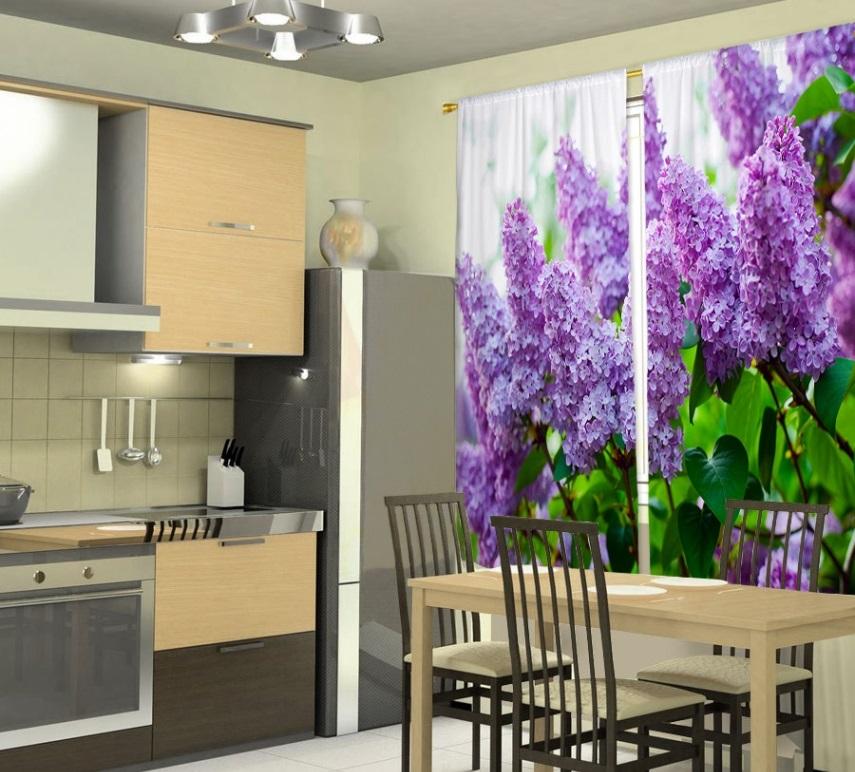 фотошторы для кухни дизайн фото