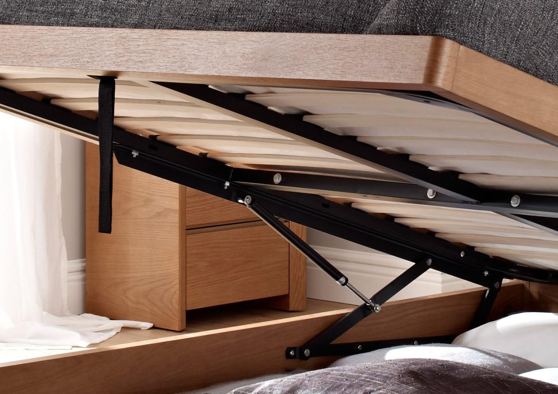 кровать с газлифтным механизмом