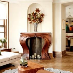 гостиная в стиле модерн фото оформления