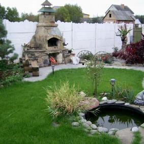 как украсить двор декор идеи
