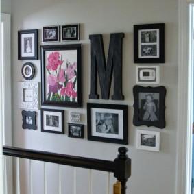как украсить стену декор