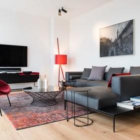комната с диваном идеи дизайн