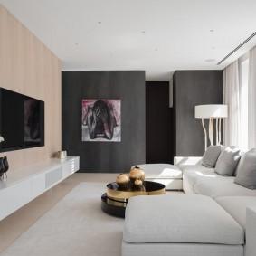 комната с диваном идеи дизайна