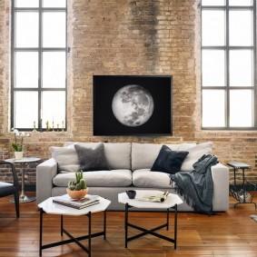 комната с диваном фото декор