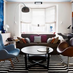 комната с диваном идеи