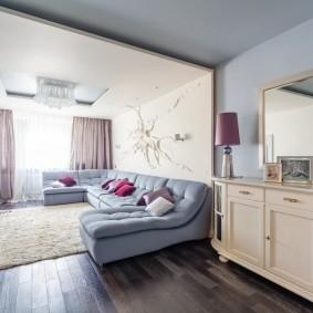 комната с диваном идеи оформление