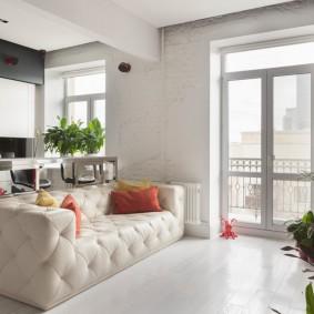 комната с диваном варианты идеи