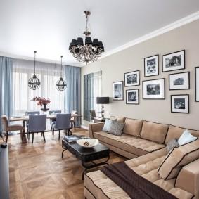 комната с диваном виды фото
