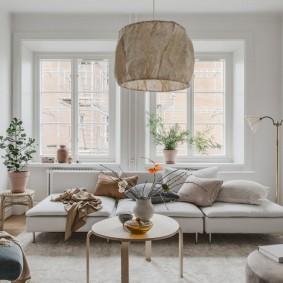 комната с диваном фото идеи