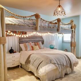 комната в морском стиле фото декора