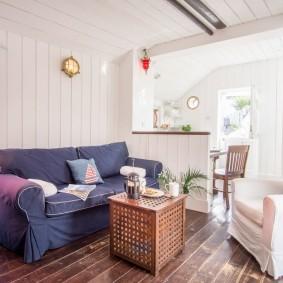 комната в морском стиле идеи декора