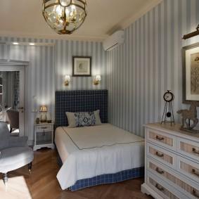комната в морском стиле фото видов