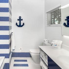 комната в морском стиле виды идеи