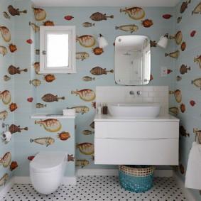 комната в морском стиле виды дизайна