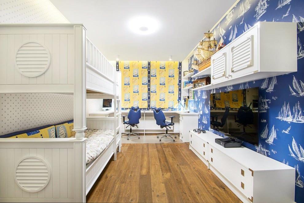 комната в морском стиле детская