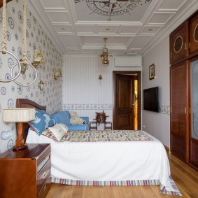 комната в морском стиле дизайн идеи