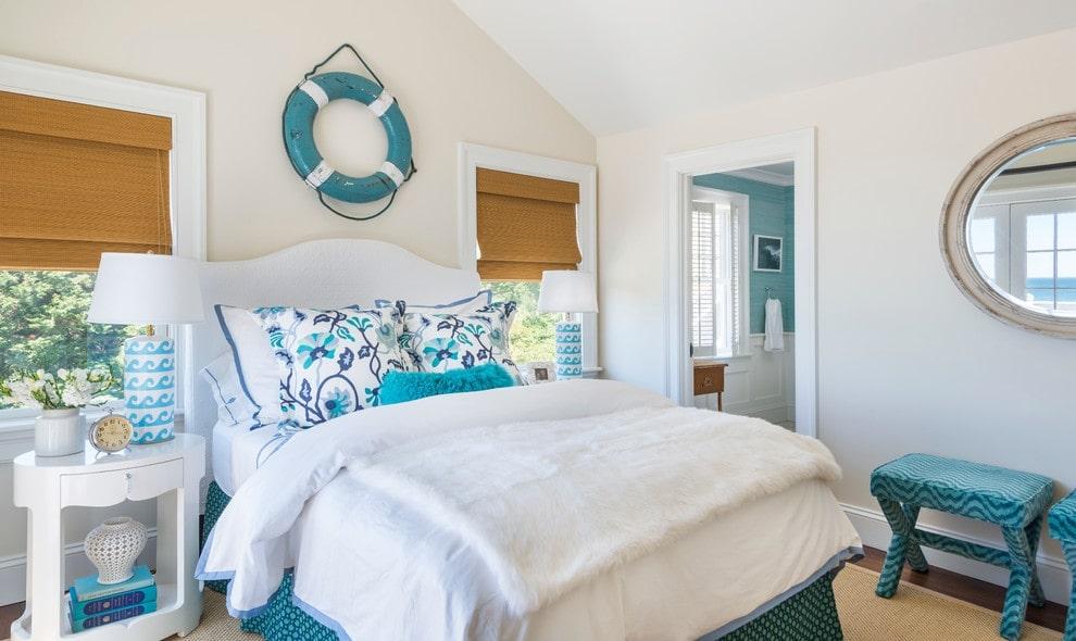 комната в морском стиле фото