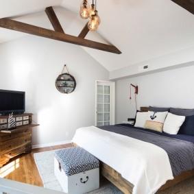 комната в морском стиле идеи фото