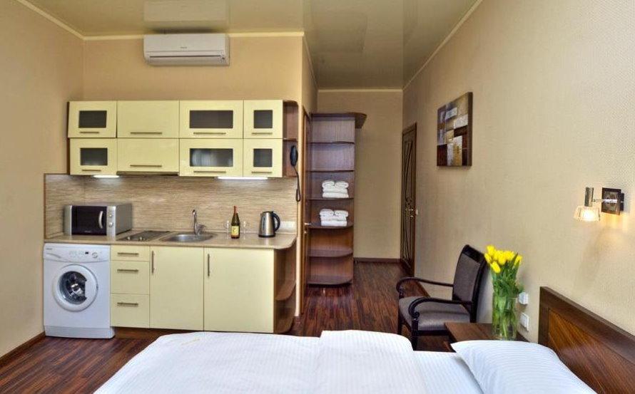 Интерьер комнаты в семейном общежитии