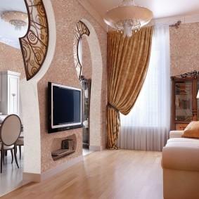 комната в стиле модерн фото вариантов